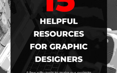 15 Helpful Resources for Graphic Designers
