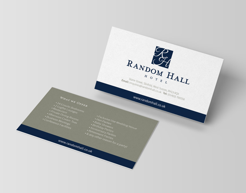 Business Card Design Dorking
